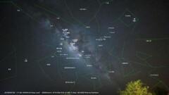 ハワイ島 天の川 星座解説