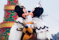 ディズニークリスマス2018ミキミニ