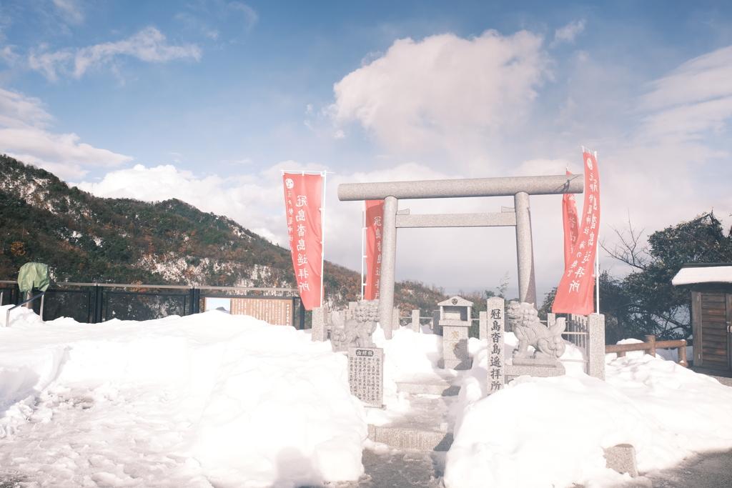 雪景色を求めて強引な予定で天橋立へ7