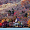 中禅寺湖畔・晩秋(2)~男体山を従えて…