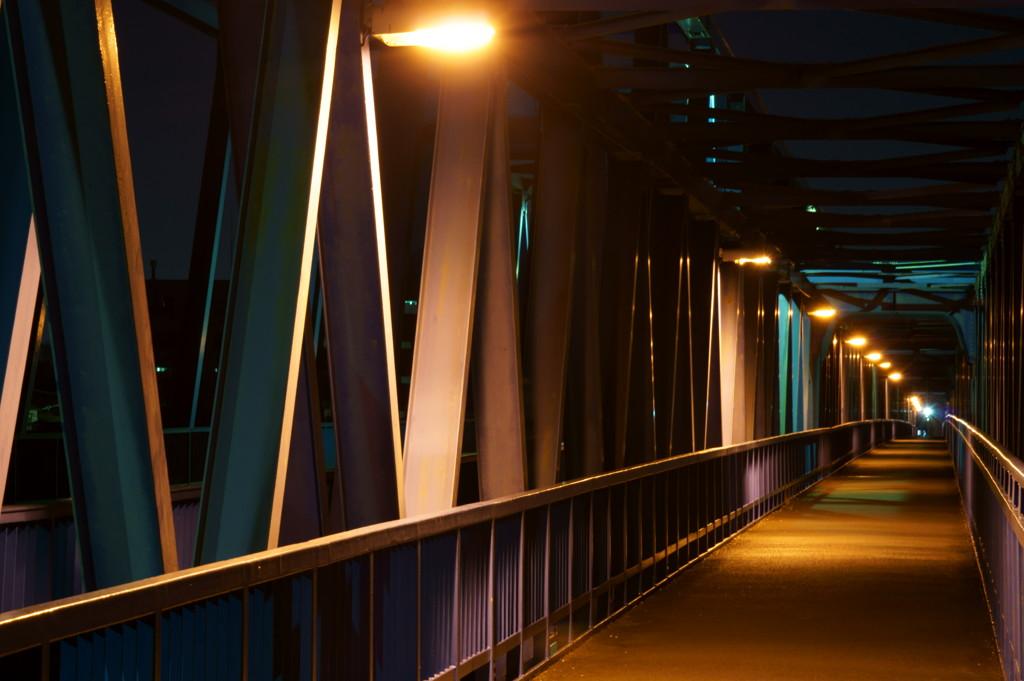 橋と夜景②
