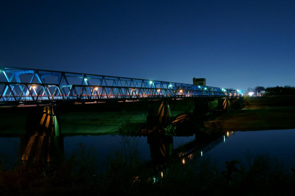 橋と夜景③