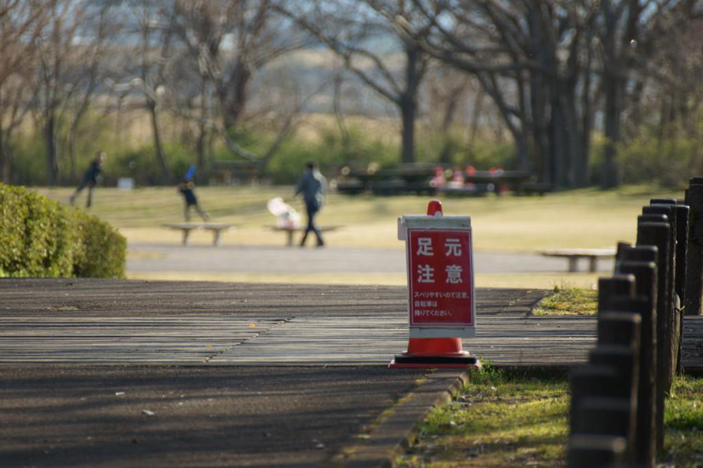 公園の道端③