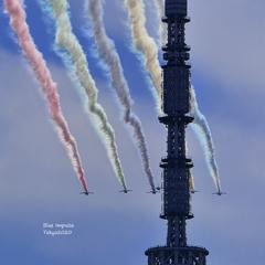 ブルーインパルス(東京オリンピック2020) 202107231