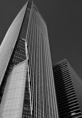 【街の情景】・高層ビルのデザイン・・(虎ノ門地区にて)
