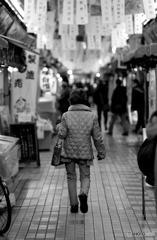 【街の情景】・アナログ派の買い物・・立石地区!