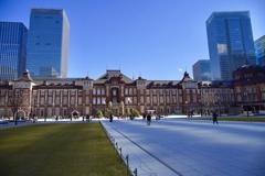 東京駅丸の内口 駅前