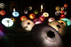 大山寺 和傘灯り-3