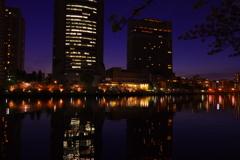 大川 -夜景-