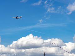 雲の切取線