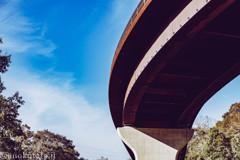 栗鉄橋と霞雲