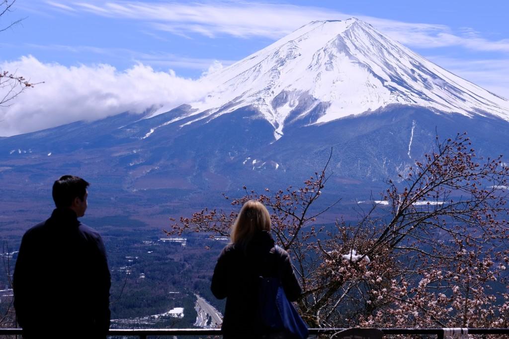4月11日の富士山