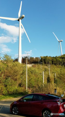 飯干峠の風力発電所 その1