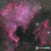 NGC7000 北アメリカ星雲 (2016年再処理拡大)