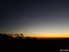 月・木星・金星 そして 機関車阿蘇山?