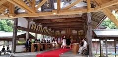 宗像大社 本殿 結婚式