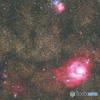 M8干潟星雲 M20三裂星雲 (再処理)