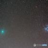 ウィルタネン周期彗星(4枚コンポジット)