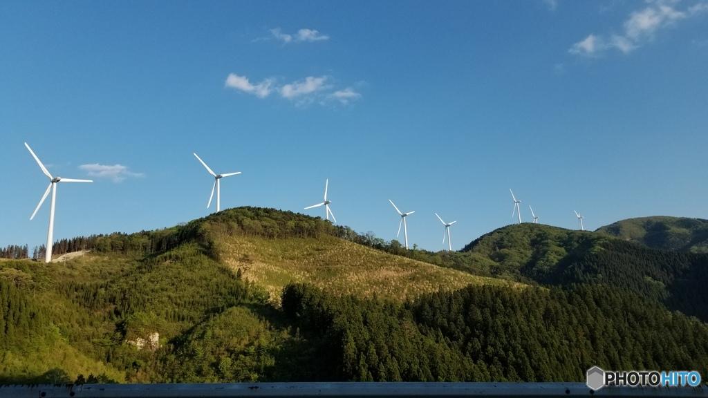 飯干峠の風力発電所 その2