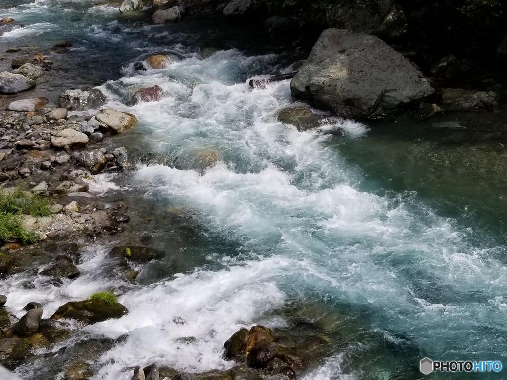 尾前川 水無川の合流