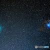 スバルとウィルタネン彗星(1枚もの)
