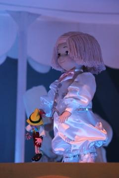 幸運のピノキオ人形