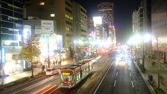 広島市街 袋町電停近辺