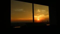 きょうの 夕陽