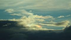 六本木ヒルズスカイデッキから見た彩雲。