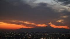 スカイデッキからの富士山