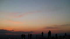 ある日の 夕焼け