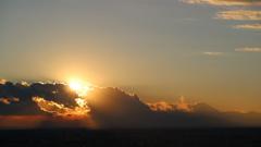 スカイデッキからの夕陽