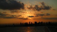 スカイデッキから見た 夕景