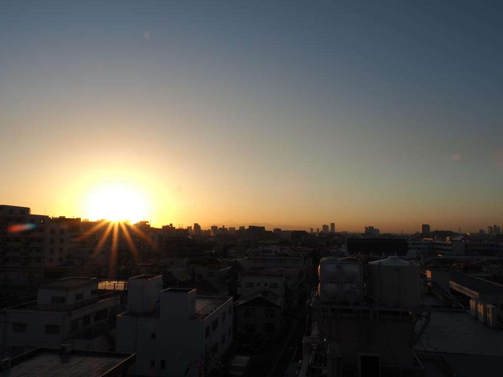 もう少しで日没