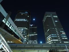 天王洲アイル駅出口付近からの眺め