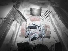 古民家 囲炉裏体験2