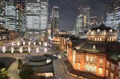 夜景散歩 駅