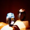 木でできた指輪