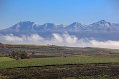 霧が上がって青空が見えた頃