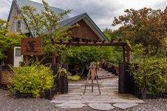 山里の蕎麦屋