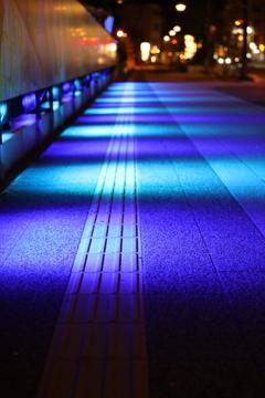 東北電力によるライトアップ