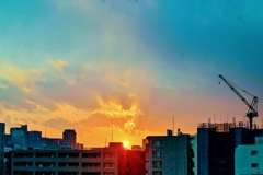 「黄昏時の空」DSC_5096-2