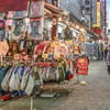 「上野中通りの賑わい」