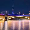 「蔵前橋ライトアップ」