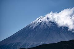 お昼の富士山