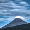 イブの笠雲富士山