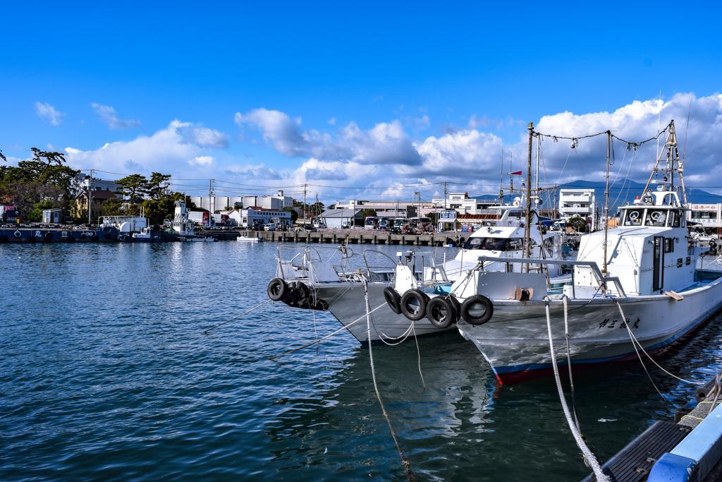 NUMAZU fishing port