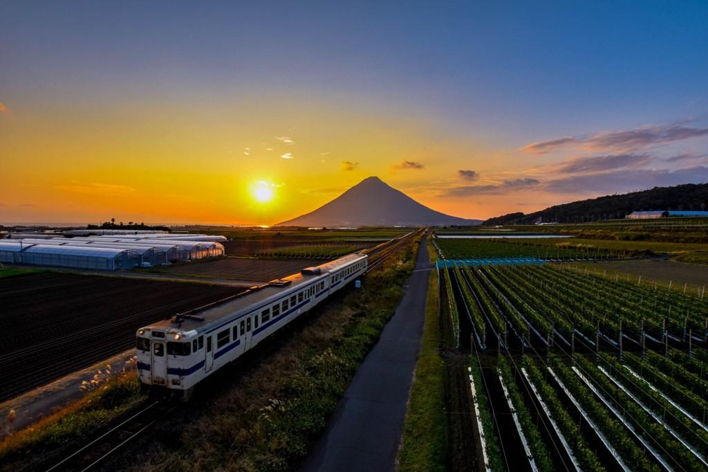 故郷の汽車