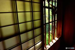 数寄屋造りの窓