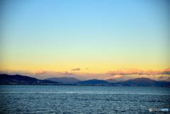 落日 ~東の空~